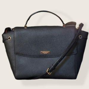 Kate Spade black Leila Laurel Way crossbody bag